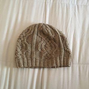 Brown & Gold RALPH LAUREN Winter Hat